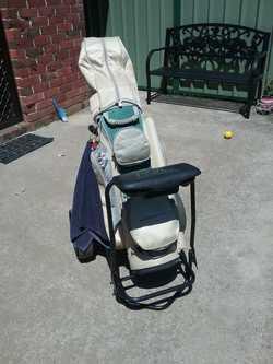 Includes bag,buggy&balls;.