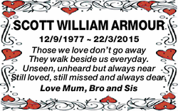 SCOTT WILLIAM ARMOUR