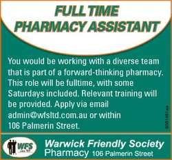 You would be working with a diverse team that is part of a forward-thinking pharmacy. This role will...
