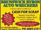 BRUNSWICK BYRON AUTO WRECKERS