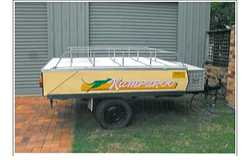 CUB Kamparoo Full annexe, plus awning, good tyres, hard floor and large tool box on front, rego $...