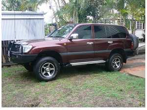 2000 LANDCRUISER WAGON