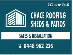 SHED & PATIO INSTALLERS