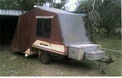 OFF Road Camper Trailer, Hard Floor, Double Bed, Sml Annex, 2 Storage Boxes, 12 months Registrati...