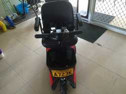 GO-GO Ultra X 3-wheel Mobility Scooter. Purchased July 2015. As new condition. Weight capacity 118kg...