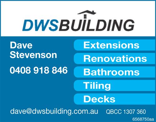 Dave Stevenson    Extensions  Renovations  Bathrooms  Tiling  De...