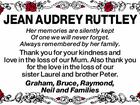 Jean Audrey Ruttley