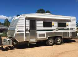 "KEDRON off road caravan, 19'6"", 2008, ex condition, garaged, a/c, front kitchen, full..."