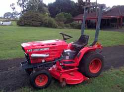 4WD Kubota B6200 Diesel 15hp Tractor,