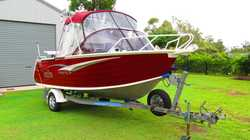 Tralicraft/ stylecraft  and boat trailer manufactured in WA .All H section gal.4.85 x 2.2 beam Back...