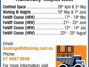 LD TRAINING Mining - Civil - Heavy Vehicle Nationally Recognised Courses