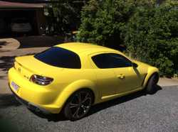 Mazda RX8 6 speed manual 2003, RWC rego August airconditioned and cruise control