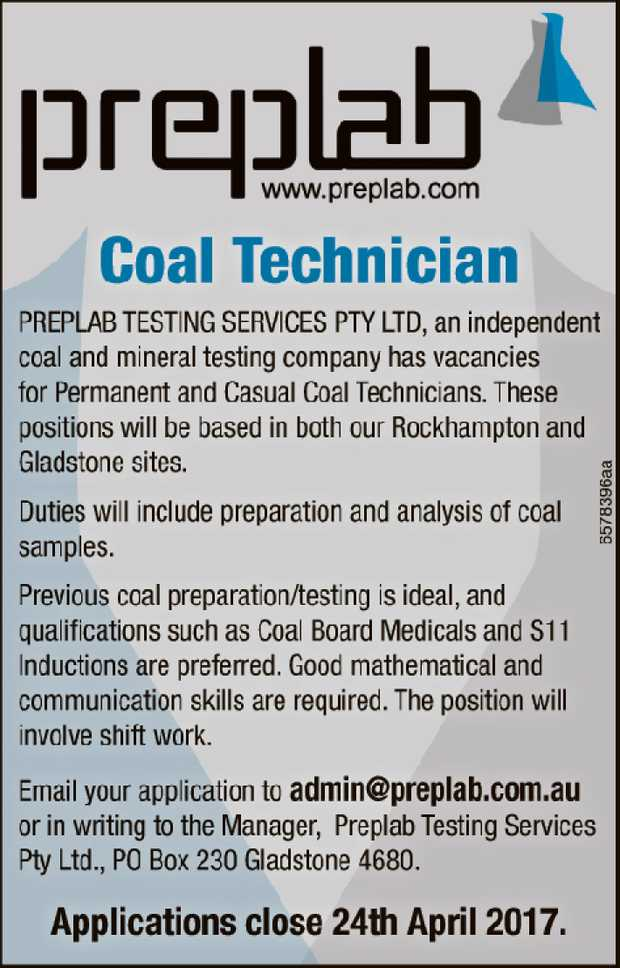 Coal Technician