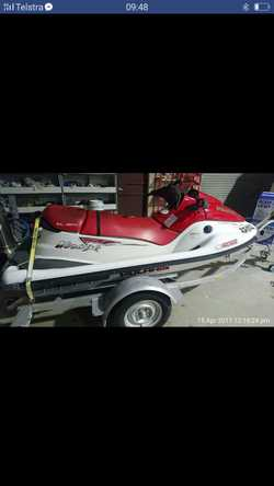2004 Polaris jet ski very little use comes with Trailer in good condition 0401997197