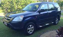 HONDA CRV Wagon AWD, 2.4L, '02, man, 5spd, a/c, radio/CD, t/bar, e/brakes, 272,450ks. Great...