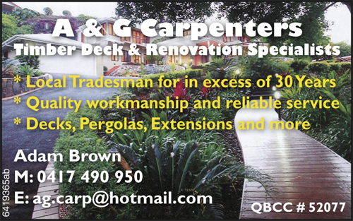 Timber Deck & Renovation Specialists  Local Tradesman for in excess of 30 years  ...