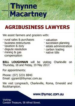 AGRIBUSINESS LAWYERS We assist farmers and graziers with: rural sales & purchases business restr...