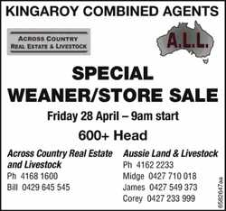 KINGAROY COMBINED AGENTS