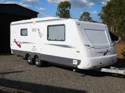 AVAN, low klms, little use always garaged, top of the range, huge front storage, ensuite with separa...