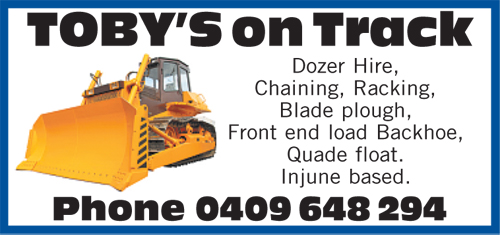 Dozer Hire  Chaining  Racking  Blade Plough  Front end Load Backhoe  ...