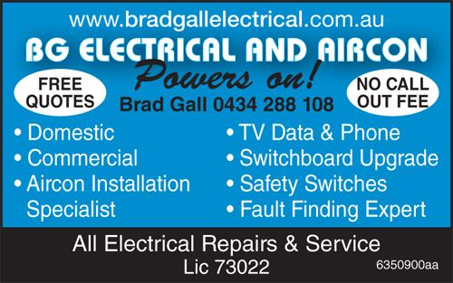 Powers on!