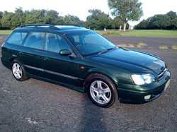 AWD Subaru Liberty wagon, auto., air cond., cruise, CD, alloys, log bks, rego 6/17, mech A1, driv...