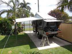 Jawa camp trailer 2.5 years old, registered, excellent condition.