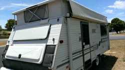 "COROMAL SEKA 16'6"" poptop, 12 mths rego, RWC, 2 sngle beds, full annex, gas stove, 3-w..."