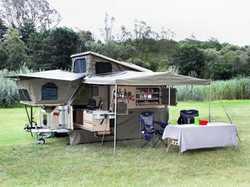 2013 Offroad Conqueror UEV 490, Sleeps 4, has outdoor kitchen fridge/freezer, TV, solar panels, $...