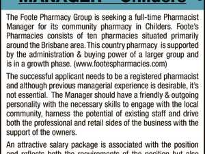 PHARMACIST MANAGER –