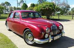 JAGUAR 2.4 MKI, 1956 model, auto, most restoration work completed, leather & woodwork interio...
