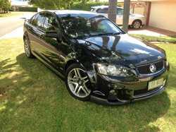COMMODORE Series 11 SV6 sedan, 92000km, reg 10/17, one owner, regularly serviced, Phantom Black,...