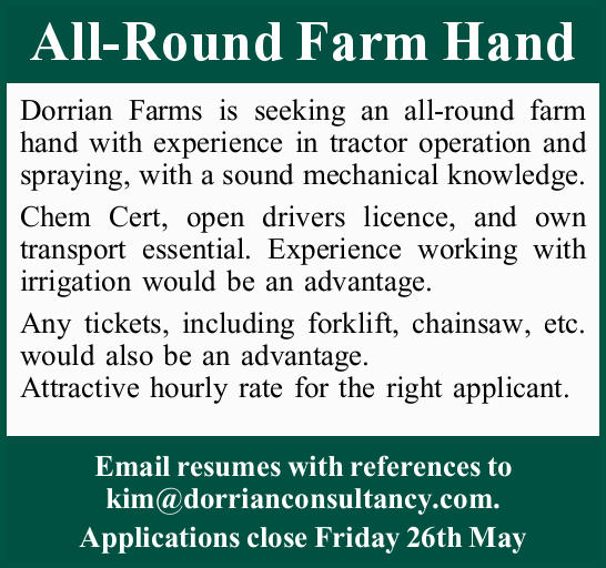 All-Round Farm Hand