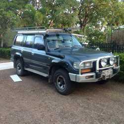 80's SERIES LANDCRUISER Factory turbo diesel, b/bar, winch, driving lights, air bags, near...