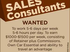 Sales Consultants required
