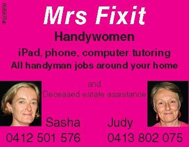 Mrs Fixit