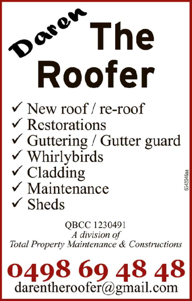 New Roof / Re-roof