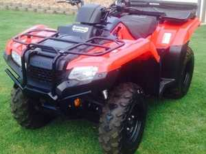 HONDA quad bike TRX420FA2