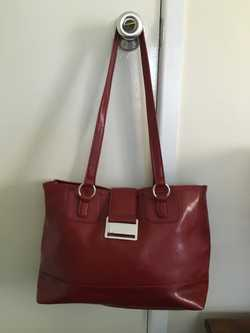 Dark Red, Faux Leather, Never Used!