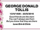 George Donald Tollis