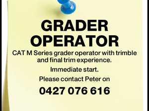GRADER OPERATOR