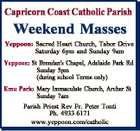 Capricorn Coast Catholic Parish