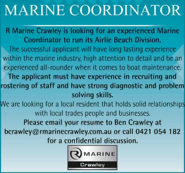 Marine Coordinator