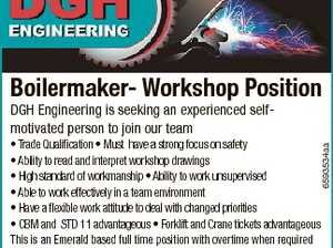 Boilermaker- Workshop Position DGH Engineering is seeking an experienced selfmotivated person to join our team 6593534aa * Trade Qualification * Must have a strong focus on safety * Ability to read and interpret workshop drawings * High standard of workmanship * Ability to work unsupervised * Able to work effectively in a team environment * Have a ...