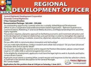 Central Highlands Development Corporation (Emerald, Central Highlands)