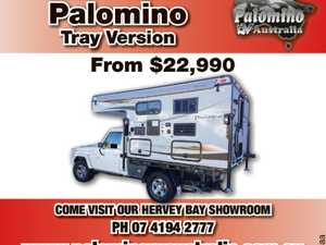 Slide On Campers   Palomino Tray Version from $22,990   Come visit our Hervey Bay showroom   PH 07 4194 2777   www.palominorvaustralia.com.au   thousands of photos to view online