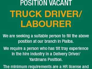 TRUCK DRIVER/ LABOURER