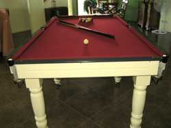 8x4ft, Italian Slate,  ques & balls, pick up only