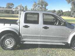 2004 Holden Rodeo twin cab