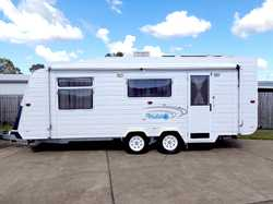 2007 ROADSTAR Dreamtime, 19', ens, Q/bed, 150L fridge, oven/ stove, TV, m/wave, R/O awn + a...